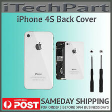 Back Rear Glass Cover Replacement for iPhone 4S WHITE