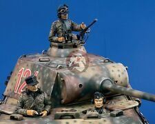 Verlinden 120mm (1/16) German Tank Crew WWII (3 Half-figures) [with PE] 959