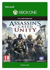 ASSASSIN'S CREED UNITY PER XBOX ONE VERSIONE DIGITALE ITALIANA CODICE KEY