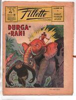 FILLETTE n°24  du 19 Décembre 1946 - PELLOS. Durga Rani -  Très bel état