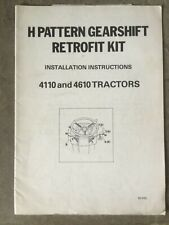 FORD H PATERN 41/4610 INSTALLATION INSTRUCTIONS TRACTOR BROCHURE HANDBOOK Q CAB