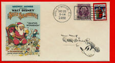 1932 Santa's Workshop Walt Disney Featured on Collector's Envelope *Xs1388