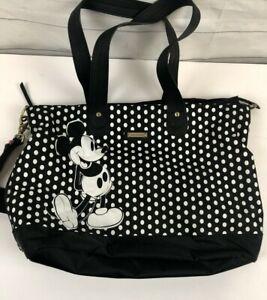 Storksak Disney Baby Mickey Mouse Diaper Bag Strollerstrap Shoulder Black White