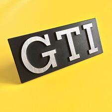 VW MK1 Golf GTI Grill badge Letter refurb (Sticker supplied only)