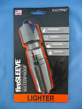 Exotac fireSLEEVE Water Proof Lighter Case for Bic Classic Black Fire Sleeve