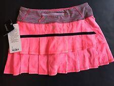 LULULEMON NWT Pace Setter Skirt Flash Jacquard Wee Stripe Retired Style Sz 4