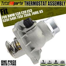 For BMW E38 E39 E53 Series 535i 735i 740iL X5 M62 Thermostat Assembly W/ Gasket