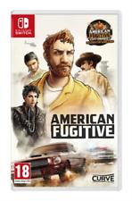 Nintendo Switch-Switch American fugitivo: Estado de Emergencia Juego Nuevo