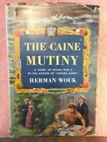 The Caine Mutiny by Herman Wouk 1951 1st edition HB DJ