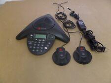Polycom Sound Station 2W 2201-67800-160 W/ 2 Extended Microphone 2201-07155-005