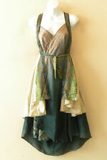 "M348 Reversible Vintage Silk Magic 30"" Length Wrap Skirt Halter Tube Dress + DVD"