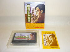 Kiri No Londres Sherlock Holmes Famicom Nintendo Importado Japón Juego Bcb FC