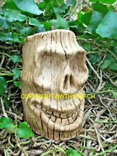 NEW DESIGN RUBBER LATEX MOULD MOULDS MOLD TO MAKE TIKI HEAD SKULL HALLOWEEN  #3