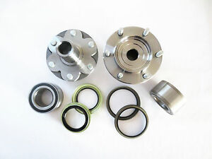 Front L & R Wheel Hub & Bearing W/Seal Set for 98 - 04  TOYOTA TACOMA PRE-RUNNER