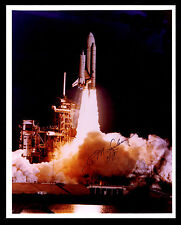 SPACE SHUTTLE LIFT OFF SIGNED BY DR. ALAN M. LOVELACE - NASA DEP. DIR.(ESP#8063)