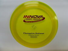 Innova Champion Katana Yellow/Green w/ Red Stamp 172g -New