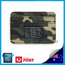 Mens Boys Army Camo Thin Slim 6 Cards Holder Wallet Student Money Pocket Travel