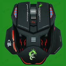 Phantom G4 USB Ambidextrous Professional Gaming Laser Mouse, 5600dpi, 10 Buttons