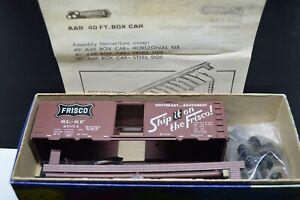 HO St Louis & San Francisco SL-SF Frisco 40' Single Door Box Car
