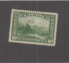 CANADA (MK6964) # 155 VF-MH 10cts 1928 MOUNT HURD, BC. /GREEN  CAT VALUE $30