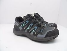 Salomon Women's XA Comp 7 WP Trail Hiking Shoe Grey Denim/Stone Blue/Lucite 7.5M
