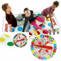 Adult Kids Twister Funny Family Moves Board Game Children Friend Body Games