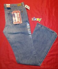 NEW NWT ! Women's Old Navy BOOT - CUT distressed Blue Jeans sz 8 Reg