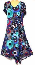 Polyester V-Neck Dresses A-Line