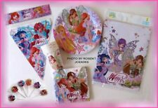 Winx Club Fairy Doll Bloomix 44 pc BIRTHDAY PARTY SET Musa Stella Bloom Flora La