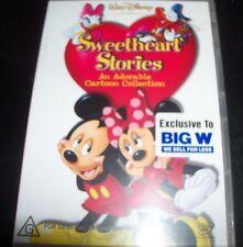 Sweetheart Stories (Mickey & Minnie Mouse) (Australia Region 4) Disney DVD - NEW