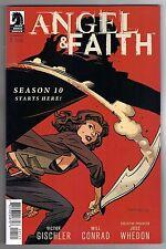 Angel & Faith Season 10 #1 Chris Samnee Variant Cover - Will Conrad Art - 2014