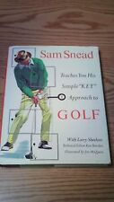 Sam Snead Key Golf book 1975