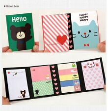 BEAR Animal Post IT Bookmark Point Flags Marker Memo Tab Sticky Notes Sticker gb