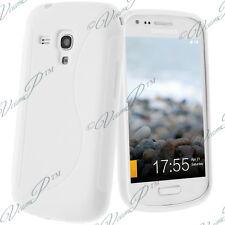 ACCESSORI COVER COVER CUSTODIA SILICONE GEL S BIANCO Samsung Galaxy S Duos S7562