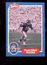 1988 Swell FRANK GIFFORD DAN REEVES New York Giants Rams Wrongback Error Card