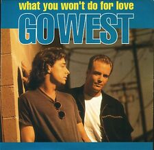 "GO WEST what you won't do for love GOW10 near mint disc uk 1993 7"" PS EX/EX"