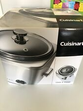 Brand new in box CUISINART RICE COOKER & Versatile steamer - Box/instructions
