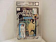 Vintage Star Wars Princess Leia Organa Original 12 Back AFA 75 Plus