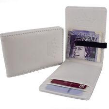 Mens White Money Clip Wallet Stainless Steel Slim Wallet Card Cash Holder