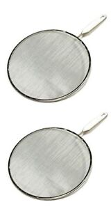 Chef Craft Splatter Screen, 10-Inch (Value Two-Pack)