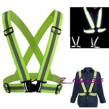 Reflector Vest Night Safety Reflective Jacket High Visibility Walk Run ON SALE