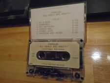 RARE AV PROMO Fabulon CASSETTE TAPE All Girls Are Pretty JASON FALKNER Grays pop