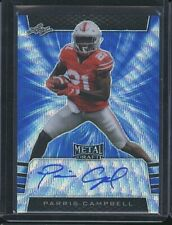 2019 Leaf Metal PARRIS CAMPBELL autograph auto blue wave RC /20 Buckeyes Colts