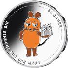 20 Euro Gedenkmünze Sendung mit der Maus 50 Jahre 2021 in Stempelglanz