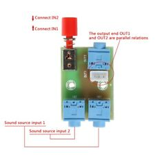 3.5 Audio 2 In 1 Out Switch Switching Board Audio Socket Signal Switching Module