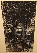 """KEN HOWARD """"HENRY VII CHAPEN"""" WESTMINSTER ABBEY LIMITED EDITION SIGNED ETCHING"""