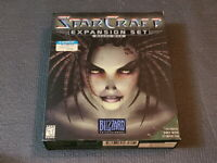 StarCraft Expansion Brood War Blizzard PC Game Korean Version Big Box Ultra Rare