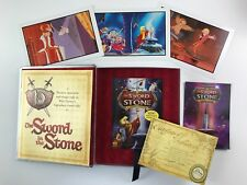NEW The Sword in the Stone Premium Boxed Set Limited Edition 45th Anniv. DISNEY