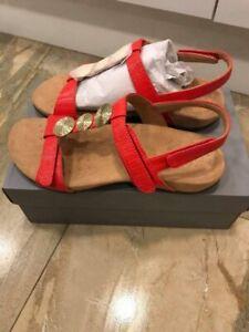 Vionic Womens Farra Cherry Colour  Sandals size-5