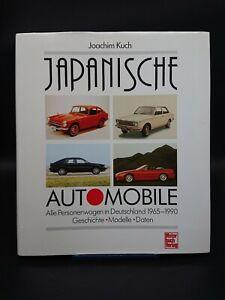 Japanische Automobile Alle Personenwagen in Deutschland 1965-1990 | Toyota Honda